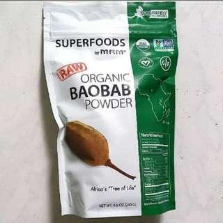 Organic BAOBAB Powder (Superfood, highly nutritious and beneficial to health)