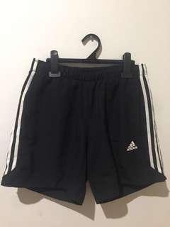 black adidas climalite sport shorts