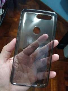 Black silicon case for oneplus 5T