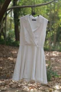 #LetGoCarousell White dress premium