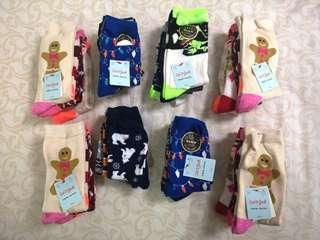 NEW 4-pair socks for kids fr USA