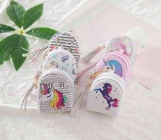 Unicorn Coin Pouch/Birthday Goodie Bag Gift/3 for $10