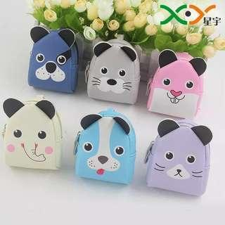 Animal Coin Pouch/Birthday Goodie Bag