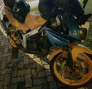Nsr 150 sp going for scrap