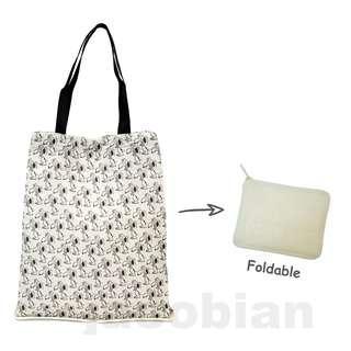 Snoopy 日本版 史努比 可摺環保袋 Foldable Eco Bag (包平郵或本地郵局自取)