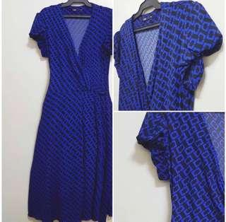 II SKIN Wrap Around Dress