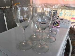 Wine Glasses 6pcs