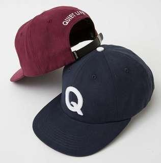 Quiet life cap available in blue