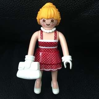 Playmobil Figures Series 6 淑女摩比人