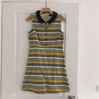 Dangerfield Striped Dress