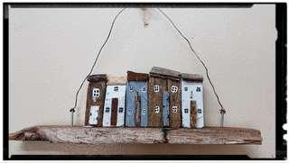 Miniature Wooden Houses