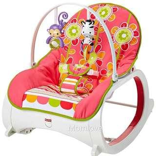 Ready Stock! Brand New Fisher Price Infant to Toddler Rocker (Best Christmas Gift for your little one)