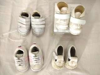 Take all White Shoes