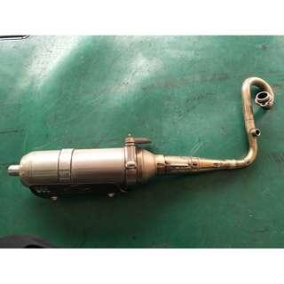【中古】【零件】YAMAHA 山葉 BWS X 125 BWS BWS125 X款專用 手工 排氣管