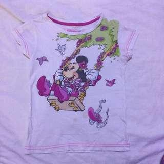Disneyland Paris Minnie Mouse Top size 6