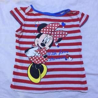 Mothercare Disney Minnie Mouse Top size 4-5 years