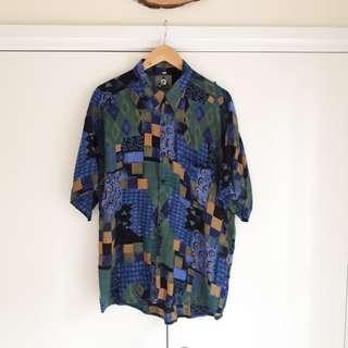 Vintage All-over Print Shirt