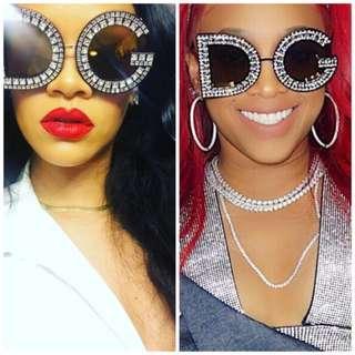 D&G Letter Sunglasses