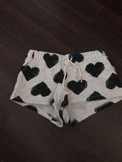 H&M Shorts Hearts