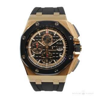 Brand New Audemars Piguet Royal Oak Offshore Pink Gold