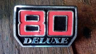 emblem SUZUKI RC80 Deluxe (kapcai)