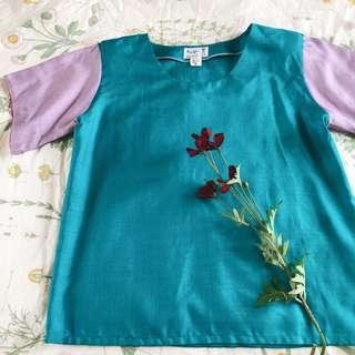 Colourblock shirt