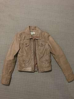 Just Jeans leather jacket women's