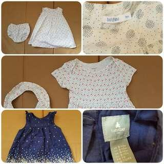 REPRICED! BUNDLE SALE! BABY GAP CARTER'S AND BOUT' CHOU'