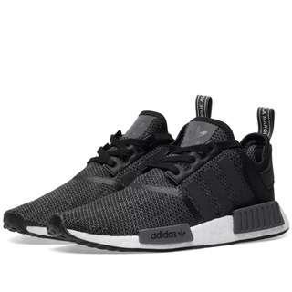 purchase cheap e4c1d 6ed9b Adidas NMD R1 (Carbon Black White Grey)