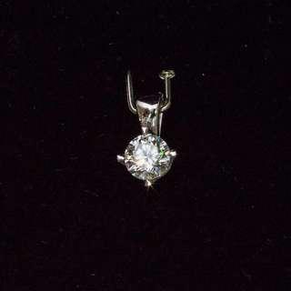 Diamond solitaire 0.45carat with GIA dossier