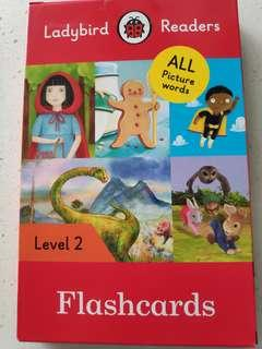 Ladybird Readers flash cards