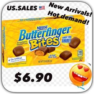 New Arrivals Nov 2018 - Butterfinger Bites from 🇺🇸