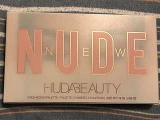 Authentic Huda Beauty Nude Palette