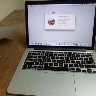 MacBook Pro Corei5 Retina (Late 2013 model)