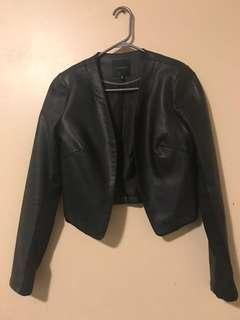 Leather jacket dynamite/medium/black