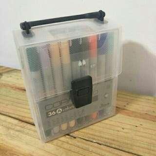🚚 (降價求售)日本copic ciao三代圓桿 麥克筆 36色