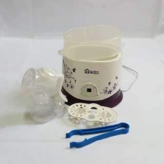 Digital Steam Sterilizer + manual breast pump (new)