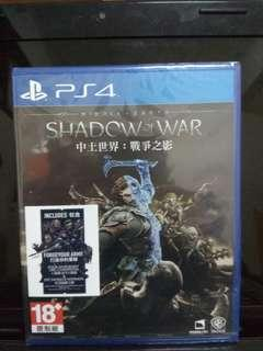 PS4 Games - Shadow of War