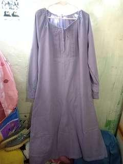 Long dress purple