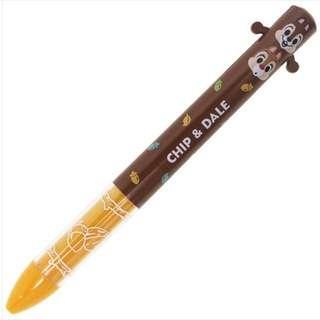 鋼牙與大鼻 奇奇與蒂蒂 迪士尼 Disney Chip 'n' Dale 2色原子筆 日本製造 (紅, 黑色墨) (包平郵或本地郵局自取)