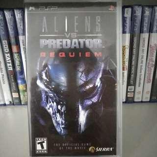 PSP - Aliens Vs Predator Requiem