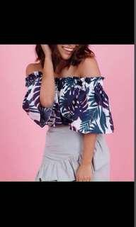 Twill Cavern Off Shoulder