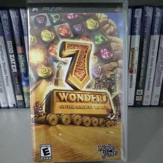 PSP - 7 Wonders Of The Ancient World