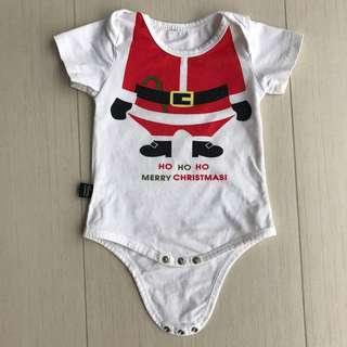 Christmas Baby Romper, 6 months