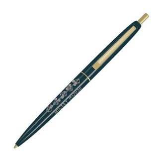 Mickey Mouse 90周年 米奇老鼠 Bic Clic 墨綠色筆杆 黑色墨 原子筆 Ballpoint Pen Black Ink (包平郵或本地郵局自取)