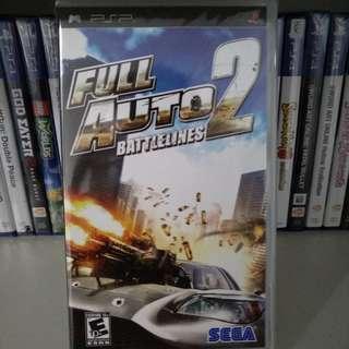 PSP - Full Auto 2: Battlelines