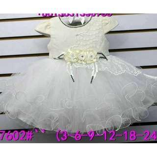[FREE SHIPPING]Trendy Baby Gown / Baby Dress