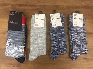 Uniqlo & H&M socks