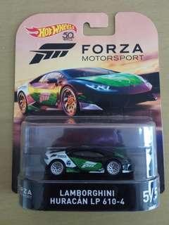 Hot wheels forza Lamborghini huracan lp 610-4