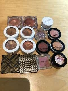 Bundle of Assorted Eyeshadows 15 for $20